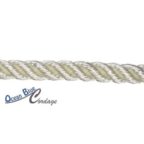 14mm Polyester 3 Strand Rope