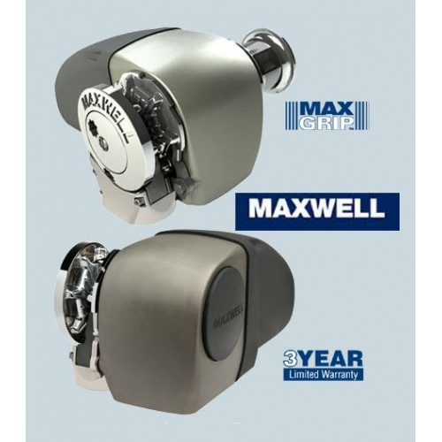 Maxwell HRC10-8 SCWSD Capstan 8mm Horizontal Auto Rope Chain Winch
