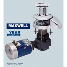 Maxwell RC8-6 Auto Rope Chain Winch 12V