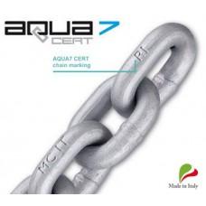 8mm AQUA7CERT Certified Hi Tensile G70 Maggi Anchor Chain