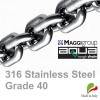 14mm ISO G40 Stainless Steel Short Link Chain