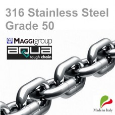 12mm 316 Stainless Steel ISO G50 Short Link Chain