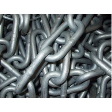 4mm DIN5685/C Galvanised Maggi LONG Link Chain