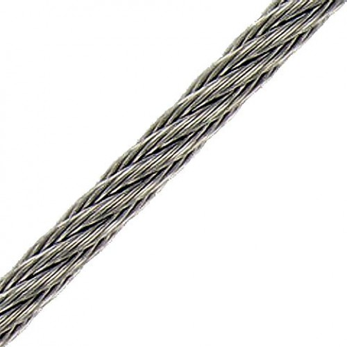 1.5mm 7x7 316 Stainless Steel Wire per mt